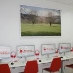 Instalaciones: sala de informática en Academia Neurona