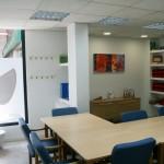 Instalaciones: fotografía de la sala de terapia en Academia Neurona