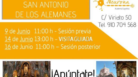 Visita cultural: Iglesia de San Antonio de los Alemanes