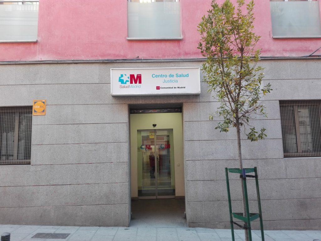 Taller de musicoterapia en el Centro de Salud Justicia